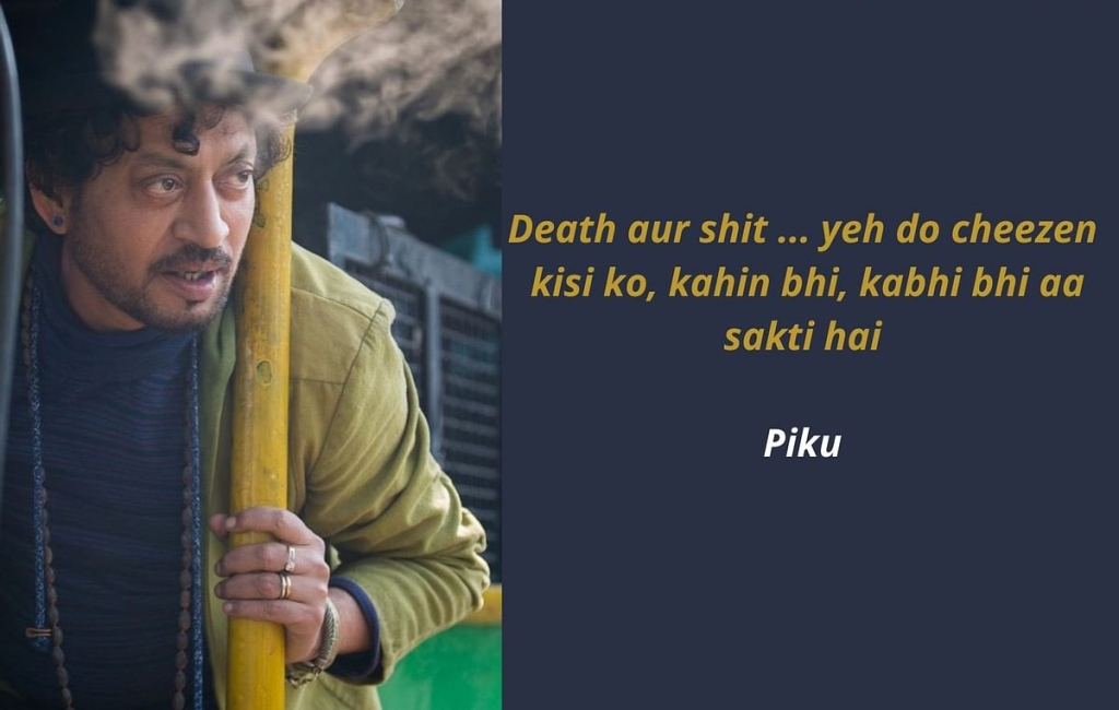 Dialogue from Piku